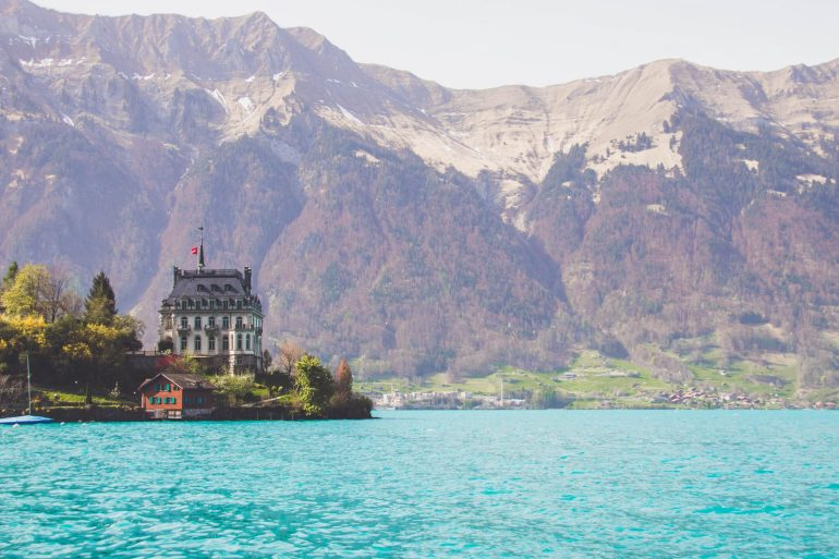 Lake Brienz, Interlaken, Switzerland