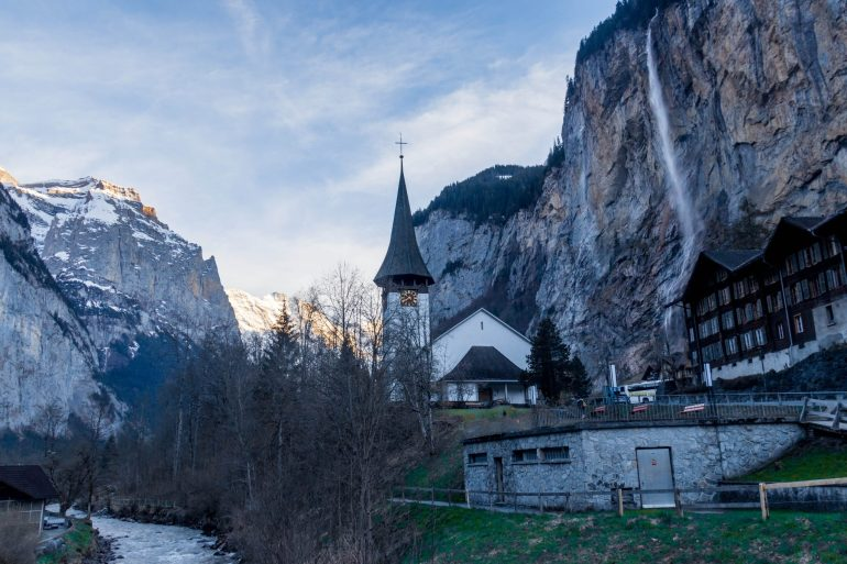 Lauterbrunnen Valley & waterfall, 3 amazing days in Interlaken, Switzerland
