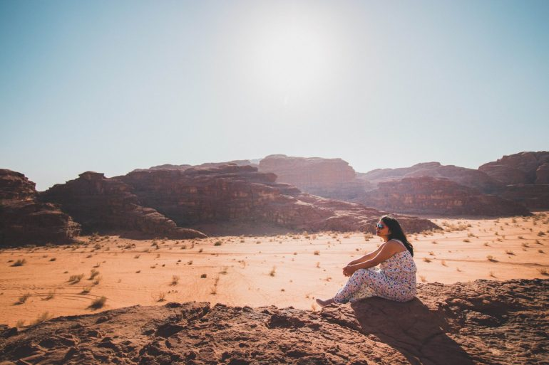 Wadi Rum sunset desert tour