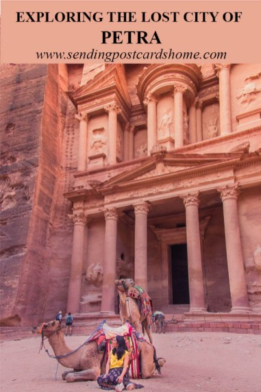 Exploring the Lost City of Petra - P