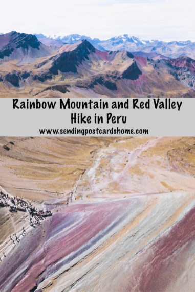Rainbow Mountain & Red Valley Hike in Peru 1