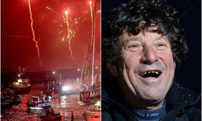 DIRECT VIDEO. Jean Le Cam, son arrivée du Vendée Globe à partir de 20h30