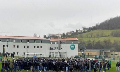 Football | ASSE : près de 300 supporters ont perturbé l'entraînement des Verts à L'Étrat