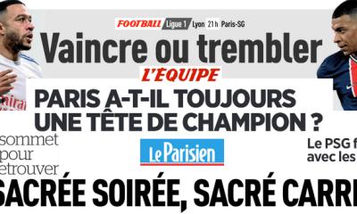 Revue de presse PSG : OL, clés, Neymar, Depay, formation…