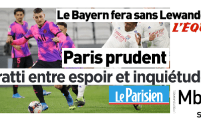 Revue de presse PSG : Verratti, Lewandowski, infirmerie, Bleus…