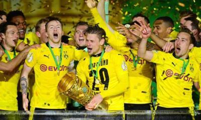 «Des moments incroyables», savoure Reus après la Coupe d'Allemagne remportée par le Borussia Dortmund