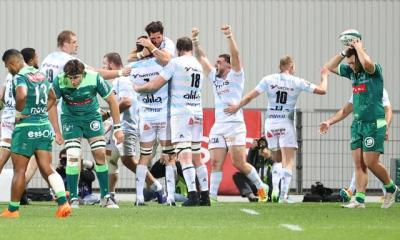 Le Racing 92 s'impose à Pau et fait un grand pas vers la qualification en phase finale du Top 14