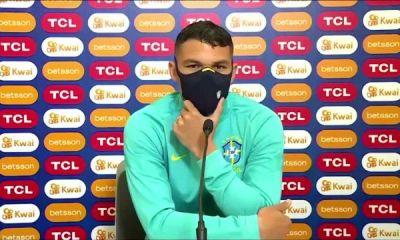 Thiago Silva (Brésil) avant la finale de la Copa America : « Il n'y a pas de favori »