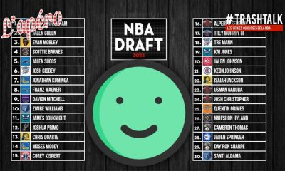 NBA Draft 2021 : le gros bilan… de ce qu'on a aimé ! Apéro TrashTalk