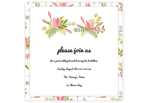 Online Wedding Invitations For The Modern Sendo