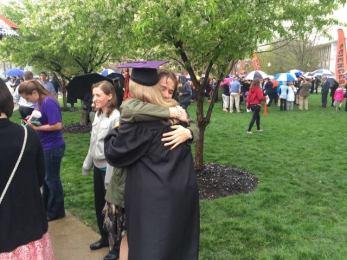 Me and Evie Gradution