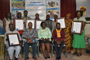 Award to improve maternal health care services held