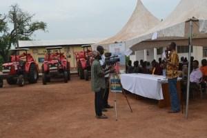 SEND-GHANA presents tractors to zonal farmer cooperatives