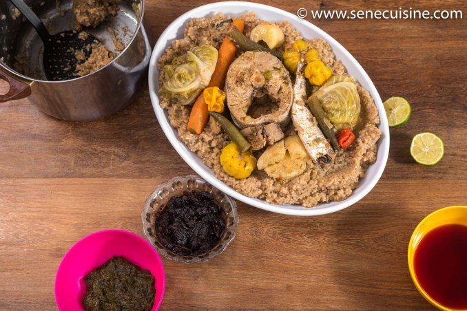 🔵La recette du mbakhal dieune aussi appelé mbaxal diw tiir