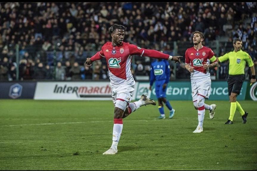 Keita Baldé envoie Monaco en 8e à la compétition de la Coupe de France