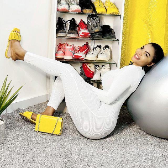 (Photos) L'actrice Big Mama chauffe la toile avec une combinaison à couper le souffle