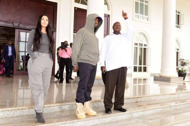 "Result of image search for ""Ugandan President to Kim Kardashian"""