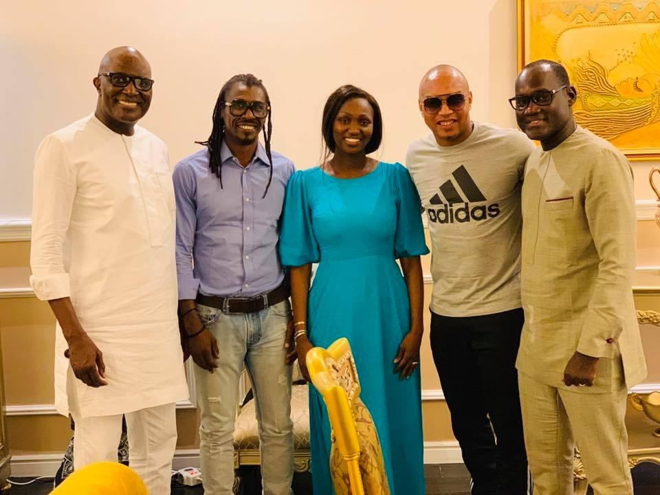 68650223 2348293628617063 1136584836287299584 n - Babacar Ngom réunit Diouf et Aliou Cissé autour d'une table (photos)