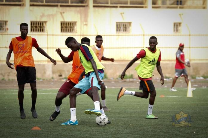 70687786 1437122476438716 8870622017737457664 o - Ligue 1: L'équipe de Dabo, Teungueth FC prépare déjà la saison (Photo)