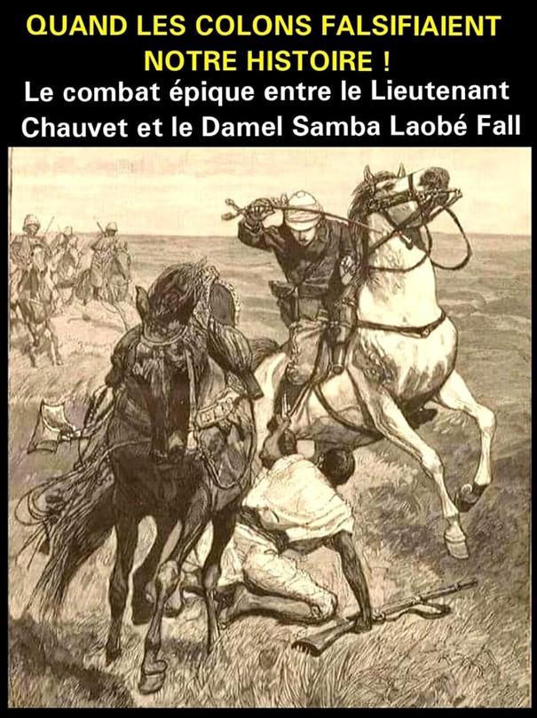chauvet damel samba - Le défi du Pr Iba Der Thiam face à la falsification historique coloniale