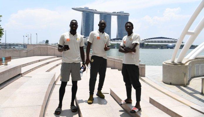 72844331 1014922425566340 132631978829676544 o - Singapour: Promenade matinale des Lions avant d'affronter le Brésil