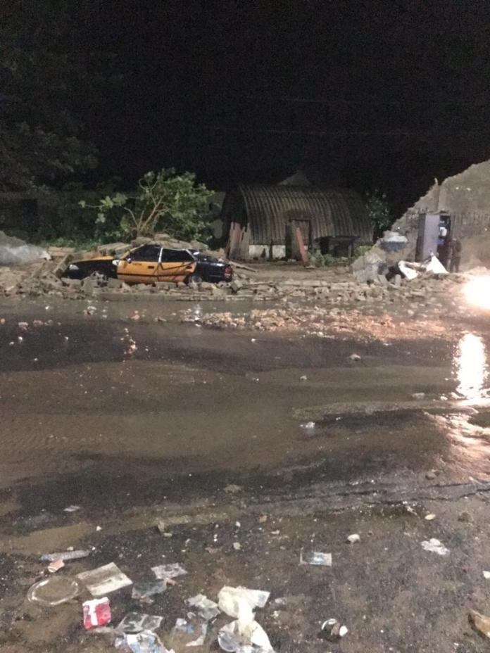 degat pluie 05 - Dakar : Après la pluie, ce n'est pas le beau temps