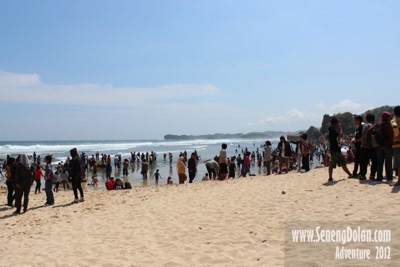 Hamparan Pasir Putih Pantai Indrayanti