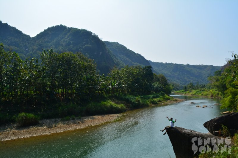 Kali Oyo Selopamioro - Tempat Hits Jogja
