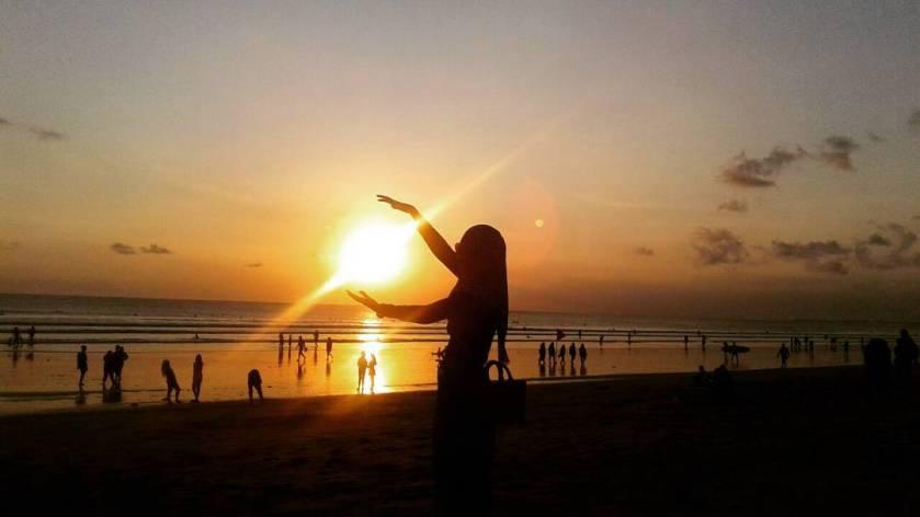 Pantai Kuta Bali - Sunset