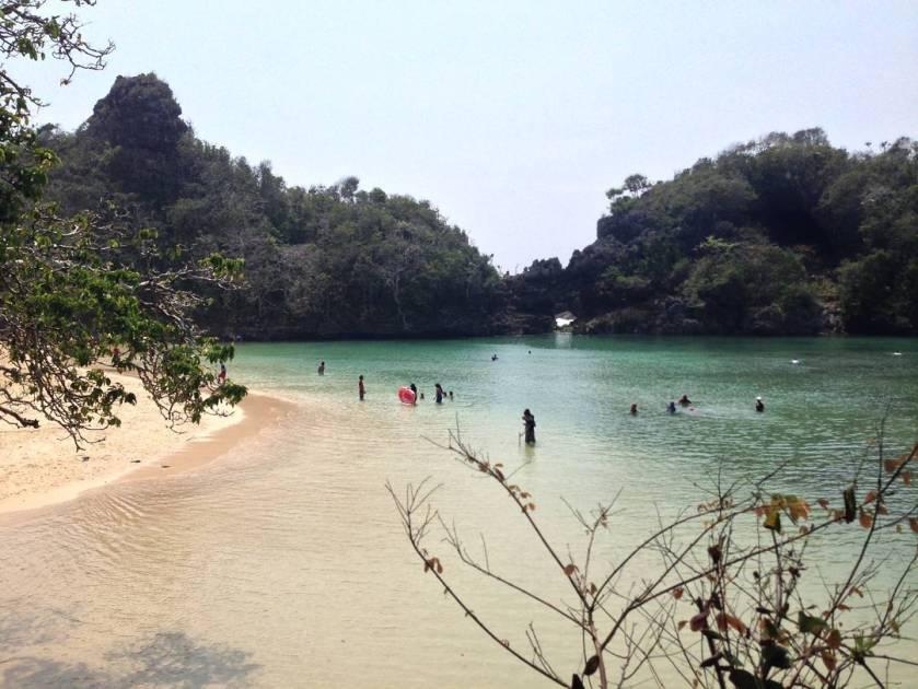 Pulau Sempu Malang Jawa Timur