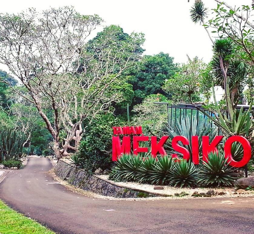 Taman Meksiko - Kebun Raya Bogor