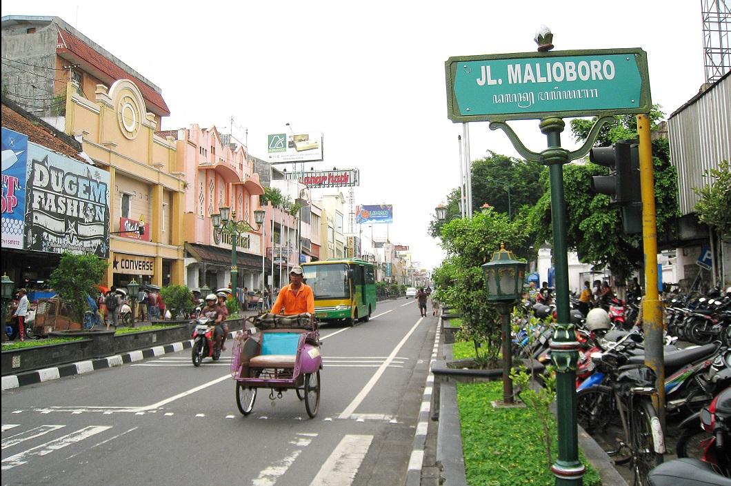 Jalan Malioboro Jogja