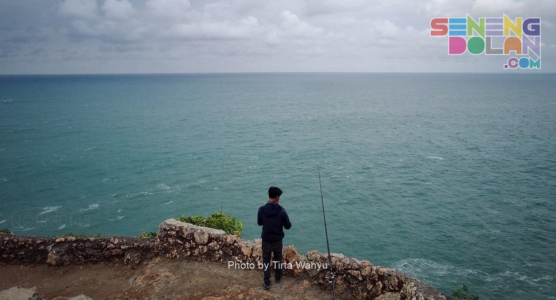 Pemancing di Laut Bekah