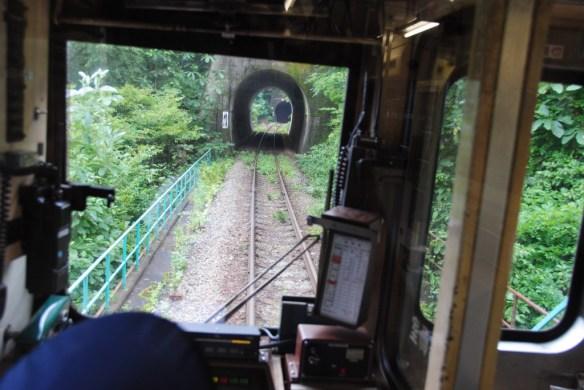 故郷編 畑野駅近く?リアス海岸を通る為、トンネルは確かに多かった