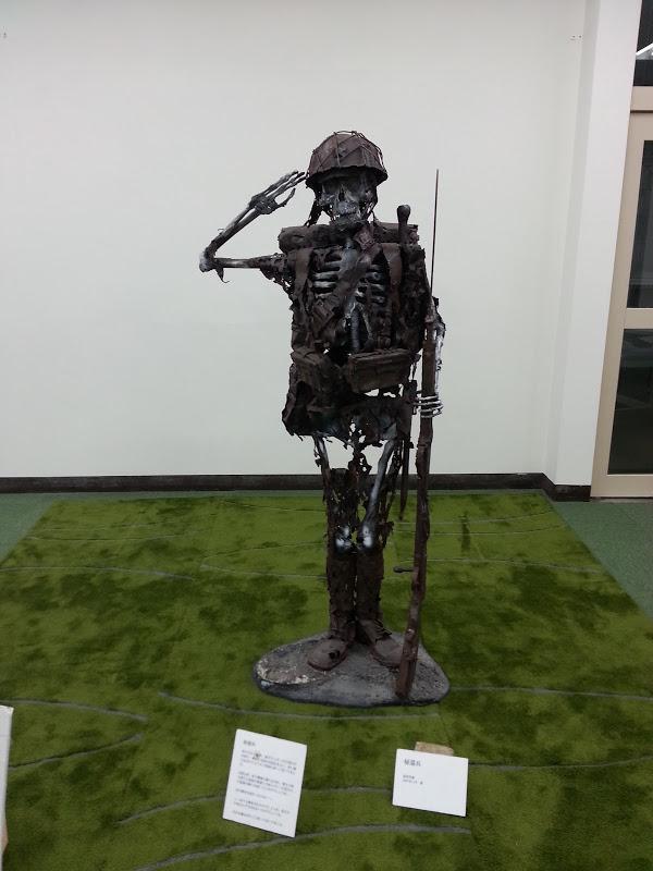 武田美通「戦死者たちのメッセージ」展。「帰還兵が問う」2007年