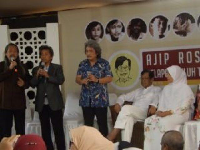 Bimbo Kang Sam, Kang Acil, Kang Jaka hadir di 80 Tahun Ajip Rosidi/SN/AGP