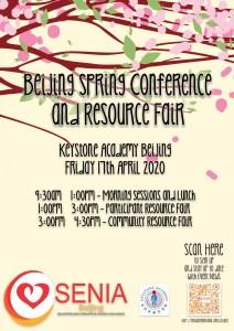 SENIA-Beijing Spring 2020 Conference