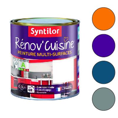 Peinture Renovation Cuisine Meuble Et Carrelage Syntilor Seni Color