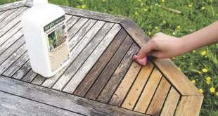 So werden Outdoor-Möbel und Holzterrassen wieder schön