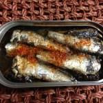 オイルサーディンでダイエット 6「醤油唐辛子焼き」