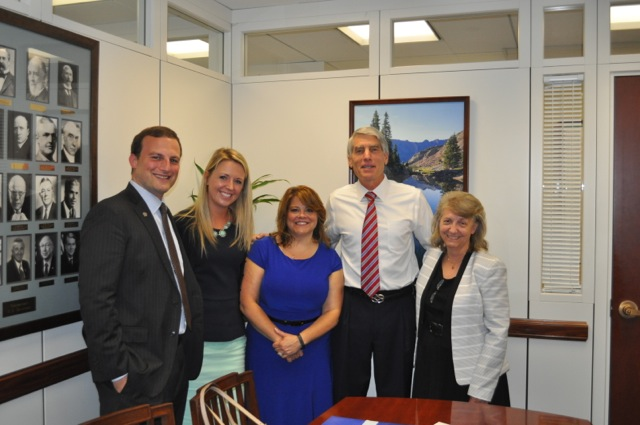 The We Work for Health meeting with Senator Mark Udall.