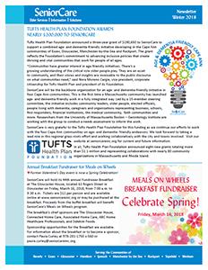 link to SeniorCare Winter 2018 newsletter