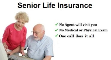 No health questions life insurance for seniors