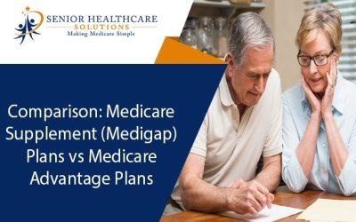 Comparison: Medicare Supplement (Medigap) Plans vs Medicare Advantage Plans