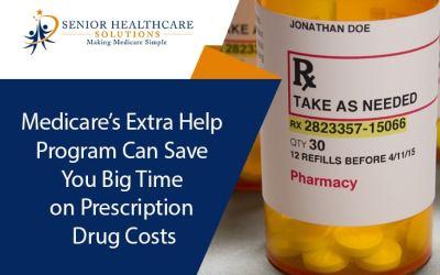 Medicare's Extra Help Program Can Save You Big Time on Prescription Drug Costs