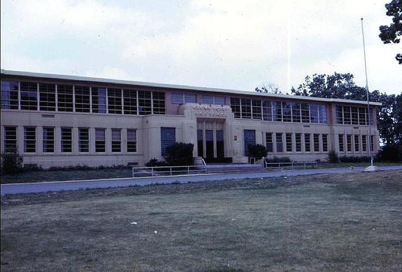 Crown Point High School, circa 1960.