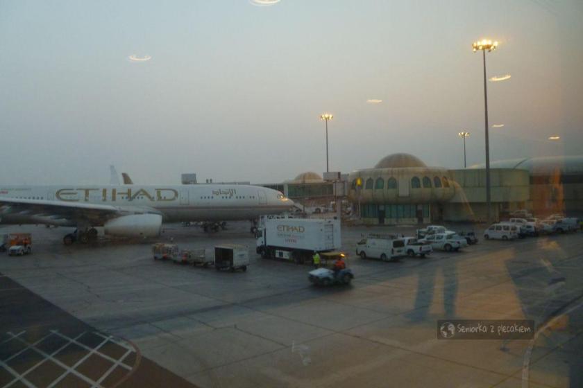 Lotnisko w Abu Dhabi w ZEA