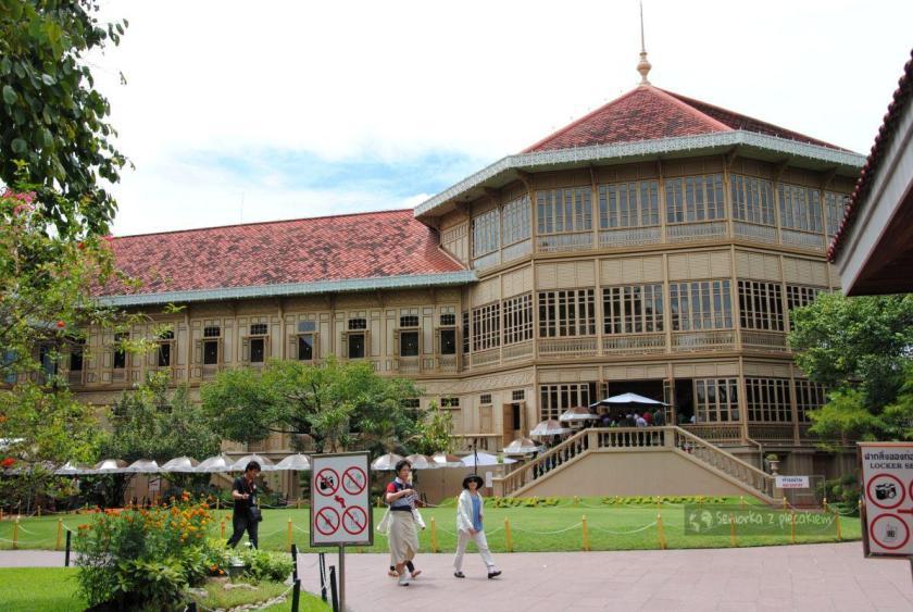 Pałac Vimanmek w Bangkoku