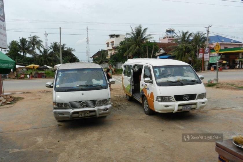 Droga do Siem Reap w Kambodży