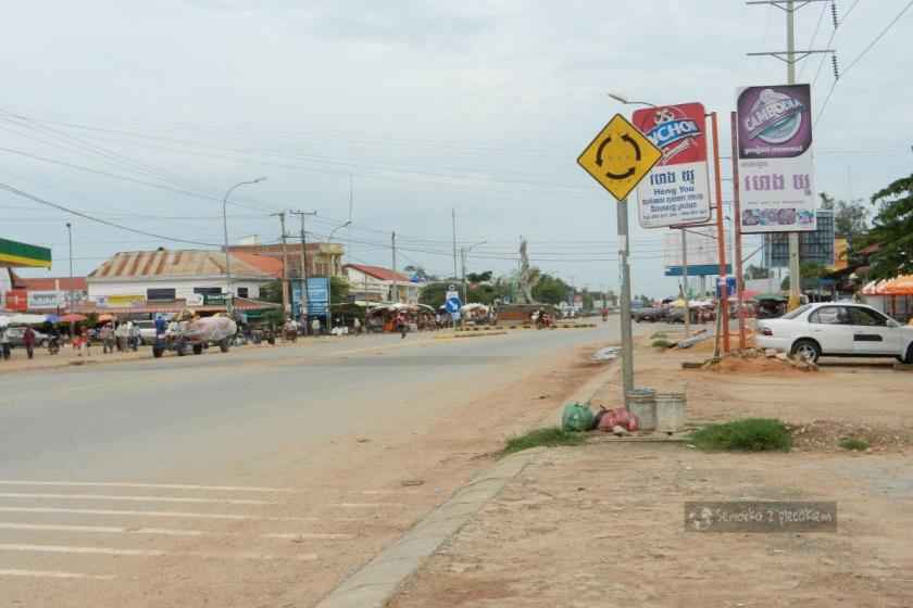 W drodze do Siem Reap